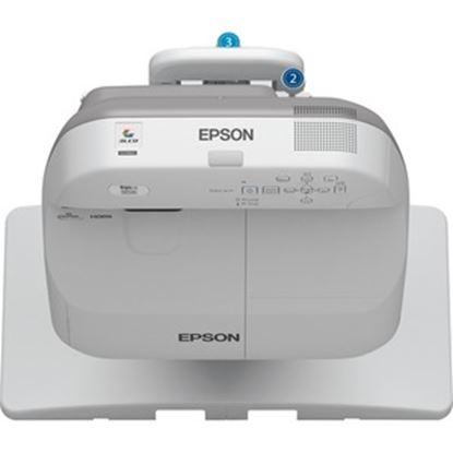 Picture of Epson BrightLink 585Wi Ultra Short Throw LCD Projector - 16:10 - White
