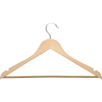 Picture of Honey-can-do HNG-01334 24-Pack Suit Hanger, Maple