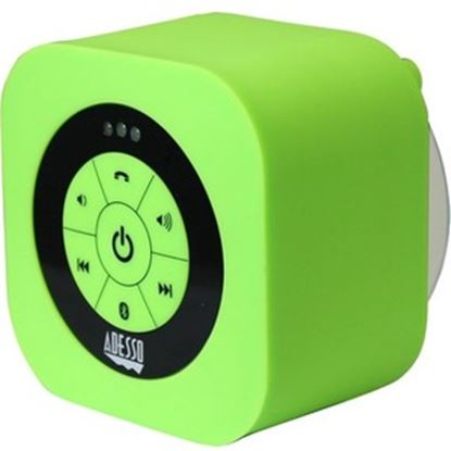 Picture of Adesso Xtream Xtream S1G Portable Bluetooth Speaker System - Green