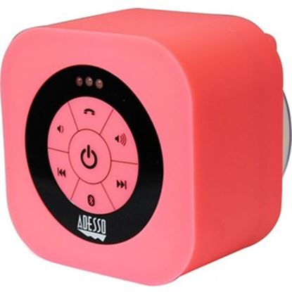 Picture of Adesso Xtream Xtream S1P Bluetooth Speaker System - Pink