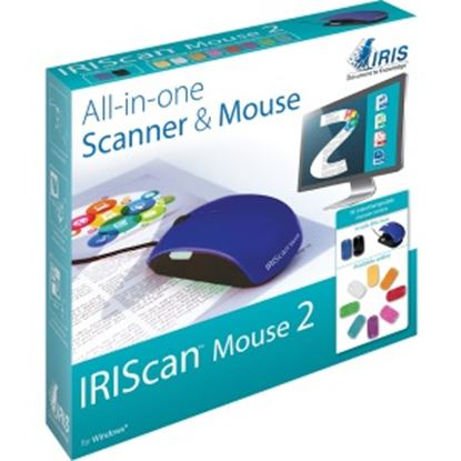 Picture of I.R.I.S Iriscan Mouse 2-Scanner & Mouse, All-In-One!