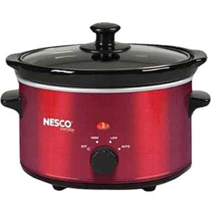 Picture of Nesco 1.5 Quart Slow Cooker (Metalic Red)