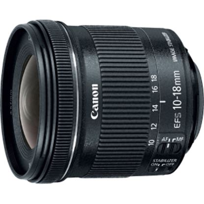 Picture of Canon - 10 mm to 18 mm - f/4.5 - 5.6 - Ultra Wide Angle Lens for Canon EF-S