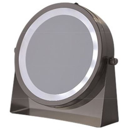 Picture of Floxite 8x/1x 360º Lighted Home and Travel Mirror