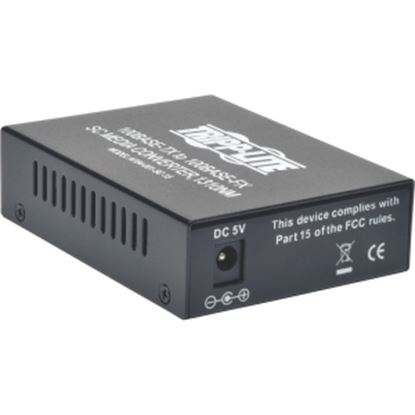 Picture of Tripp Lite 10/100 UTP to Singlemode Fiber Media Converter RJ45 / SC 15km 1310nm