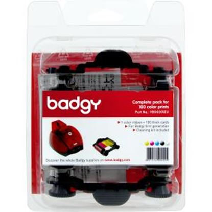 Picture of Evolis Badgy-Basic, Thick Consumable Kit