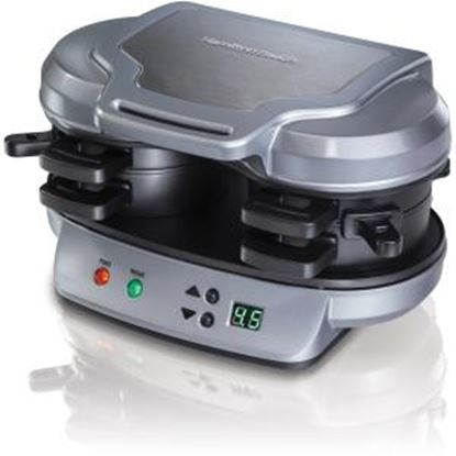 Picture of Hamilton Beach Dual Breakfast Sandwich Maker (25490)