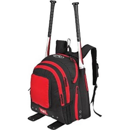 Picture of Rawlings Carrying Case (Backpack) Baseball Bat, Shoes - Royal