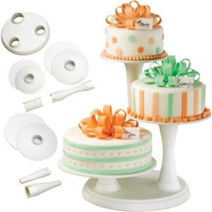 Picture of Wilton 3 Tier Pillar Cake Stand