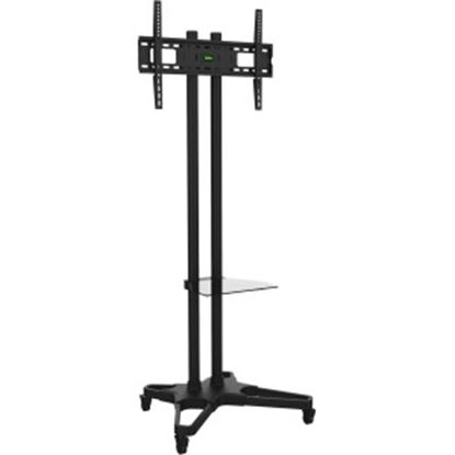 """Picture of Ematic Black Mobile TV Stand and Mount for 32""""-55"""" Screens"""