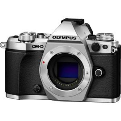 Picture of Olympus OM-D E-M5 Mark II 16.1 Megapixel Mirrorless Camera Body Only - Silver