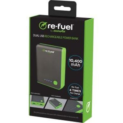 Picture of DigiPower 2-re-fuel RF-A104 Rechargeable Power Bank 10,400mAh