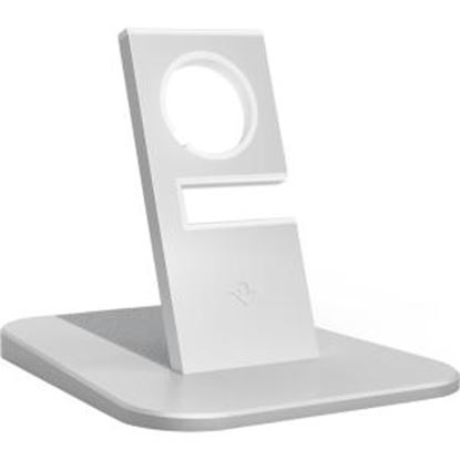 Picture of Twelve South HiRise stand for Apple Watch, silver | Metal charging dock for Apple Watch