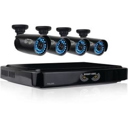 Picture of Night Owl 4 Channel Smart HD Video Security System with 1 TB HDD and 4 x 720p HD Cameras