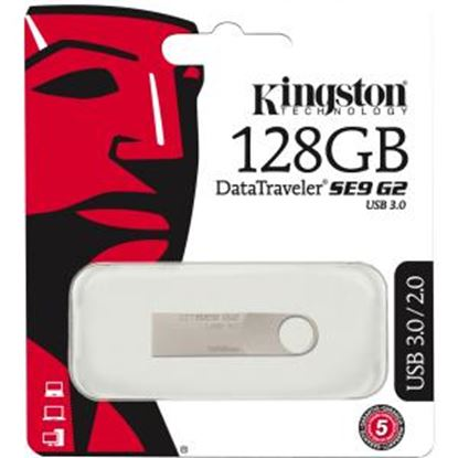Picture of Kingston 128GB DataTraveler SE9 G2 USB 3.0 Flash Drive