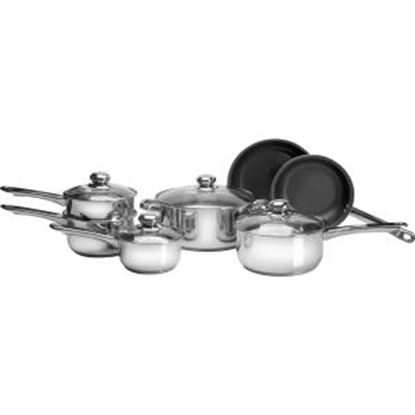 Picture of PURELIFE 11pc Stainless Steel Cookware Set