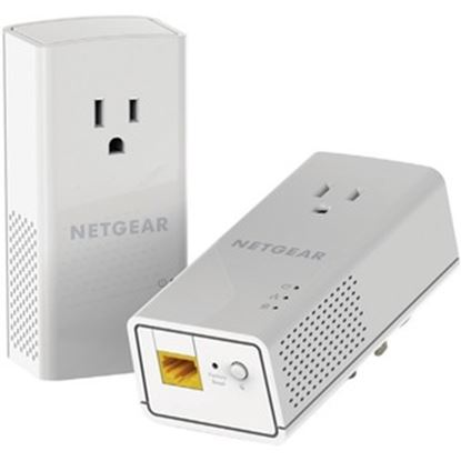 Picture of NETGEAR Powerline 1200 + Extra Outlet, PLP1200