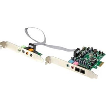 Picture of StarTech.com 7.1 Channel Sound Card - PCI Express - 24-bit - 192KHz