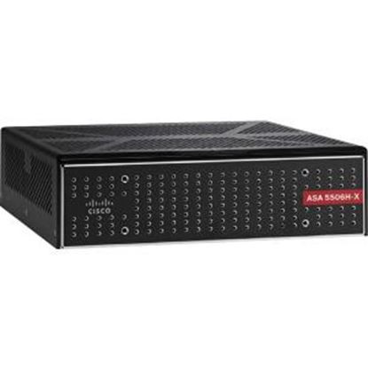 Picture of Cisco ASA 5506H-X Network Security/Firewall Appliance