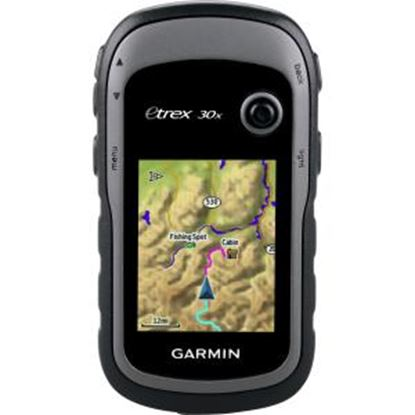 Picture of Garmin eTrex 30x Handheld GPS Navigator - Mountable, Portable