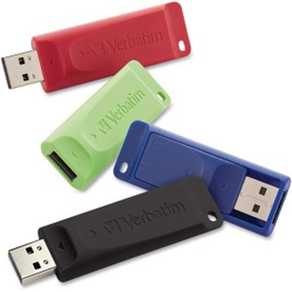 Picture of Verbatim 16GB Store 'n' Go USB Flash Drive - USB 2.0 - 4pk