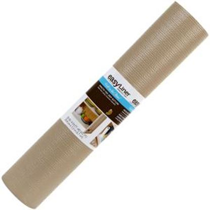 "Picture of Duck Smooth Top® 20""X 24 ft. Shelf Liner- Taupe"