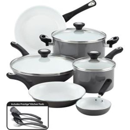 Picture of Farberware 12-Piece Cookware Set, Gray