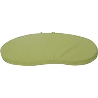 Picture of Deer Park Ironworks GREEN Cushion For Benches (Wave, Daisy, Imperial)