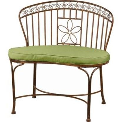 Picture of Deer Park Ironworks Daisy Ribbon Bench