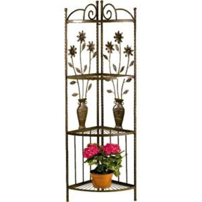 Picture of Deer Park Ironworks Floral & Vase Corner Rack
