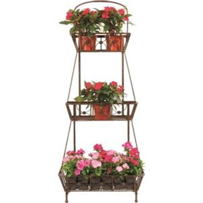 Picture of Deer Park Ironworks 3 Basket Floor Planter