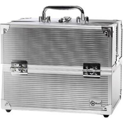 "Picture of Creative Options 11.25"" Four Tray Storage Case"