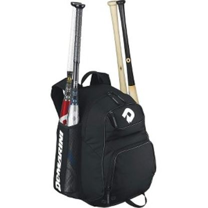 Picture of DeMarini Aftermath Carrying Case (Backpack) Baseball Bat - Black