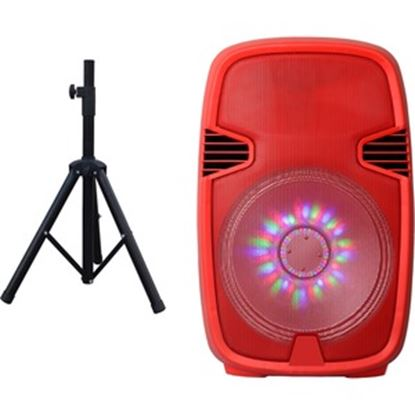 Picture of IQ Sound Portable Bluetooth Speaker System - Red