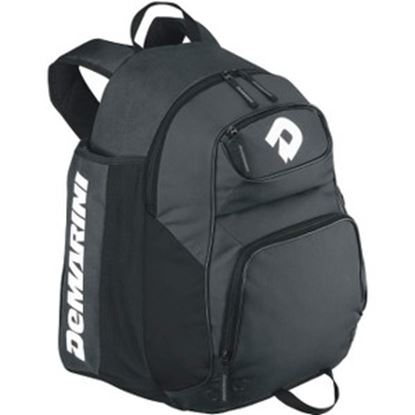 Picture of DeMarini Aftermath Carrying Case (Backpack) Baseball Bat - Charcoal