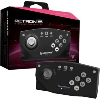 Picture of HYPERKIN Bluetooth Wireless Controller for RetroN 5 (Black)