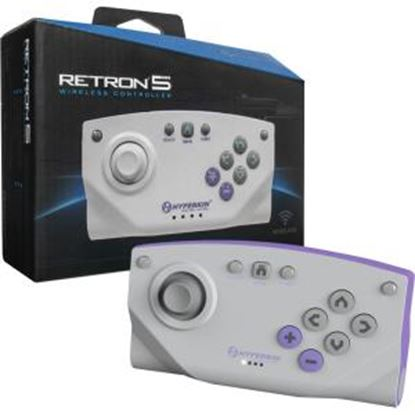 Picture of HYPERKIN Bluetooth Wireless Controller for RetroN 5 (Gray)