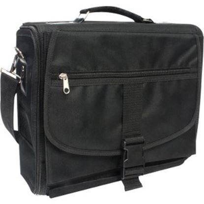 Picture of HYPERKIN Carrying Case Cable, Accessories, Controller, Gaming Console - Black