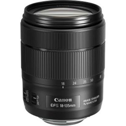 Picture of Canon - 18 mm to 135 mm - f/3.5 - 5.6 - Standard Zoom Lens for Canon EF-S