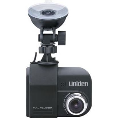 "Picture of Uniden Dash Cam DC4 Digital Camcorder - 2.4"" LCD - Full HD - Black"