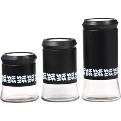 Picture of PURELIFE 3 Piece Glass Canister Set