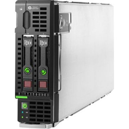 Picture of HPE ProLiant BL460c G9 Blade Server - 1 x Intel Xeon E5-2620 v4 Octa-core (8 Core) 2.10 GHz - 16 GB Installed DDR4 SDRAM - 12Gb/s SAS, Serial ATA/600 Controller - 0, 1 RAID Levels