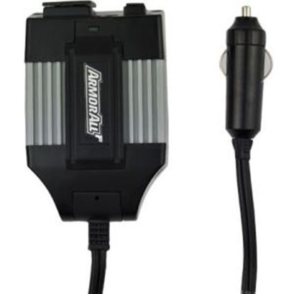 Picture of Armor All 155 Watt Power Inverter with AC and USB Port