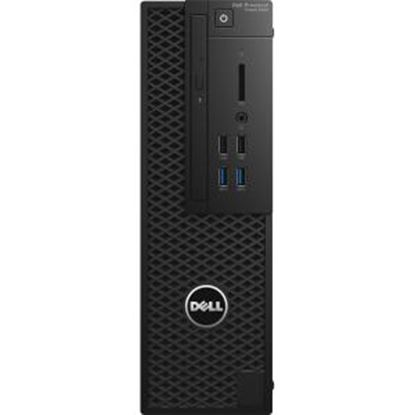 Picture of Dell Precision 3000 3420 Workstation - Intel Core i5 (6th Gen) i5-6500 Quad-core (4 Core) 3.20 GHz - 4 GB DDR4 SDRAM - 1 TB HDD - Intel HD Graphics 530 Graphics - Windows 7 Professional 64-bit (English/French/Spanish) upgradable to Windows 10 Pro - Small Form Factor