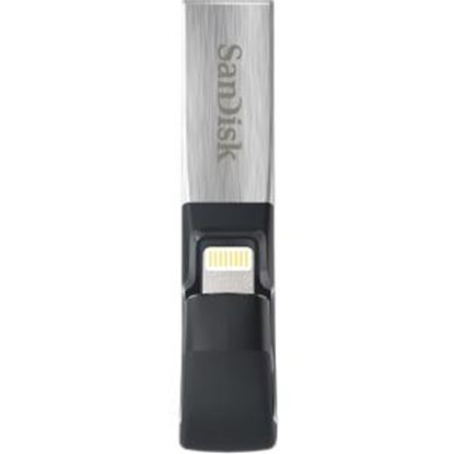 Picture of SanDisk 128GB iXpand lightning USB 3.0 Flash Drive