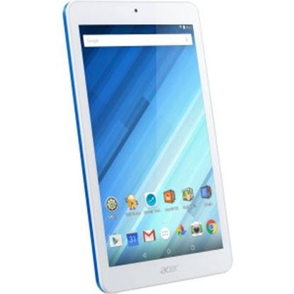 """Picture of Acer ICONIA B1-850-K1KK Tablet - 8"""" - 1 GB DDR3L SDRAM - MediaTek MT8163 - ARM Cortex A53 Quad-core (4 Core) 1.30 GHz - 16 GB - Android 5.1 Lollipop - 1280 x 800 - In-plane Switching (IPS) Technology"""