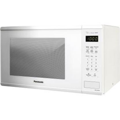 Picture of Panasonic 1.3 Cu. Ft. 1100W Countertop Microwave Oven - White -NN-SU656W
