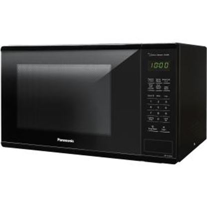 Picture of Panasonic 1.3 Cu. Ft. 1100W Countertop Microwave Oven - Black -NN-SU656B
