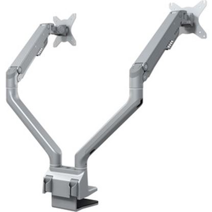Picture of DoubleSight Displays DS-225XE Mounting Arm for Monitor - Silver