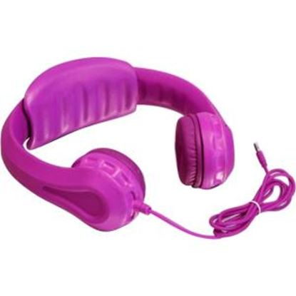 Picture of Aluratek Volume Limiting Wired Foam Headphones For Children (Pink)